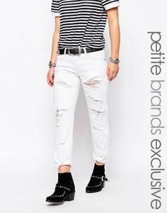 Рваные джинсы Glamorous Petite - Белый
