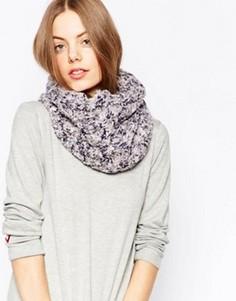 Трикотажный шарф‑снуд Pia Rossini - Серый