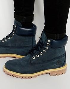 Кожаные ботинки премиум-класса Timberland Icon 6 - Синий