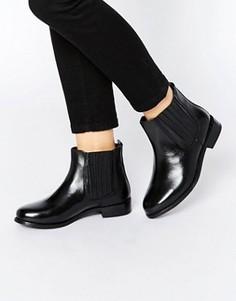 Кожаные ботинки челси Rule London Verity - Черный