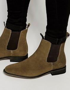 Замшевые ботинки челси Bellfield - Зеленый