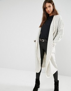 Oversize-пальто Glamorous - Кремовый