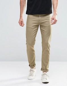 Светло-зеленые зауженные джинсы ASOS - Зеленый