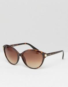 Круглые очки в черепаховой оправе Ruby Rocks - Мульти