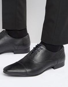Оксфордские туфли Walk London Mark - Черный