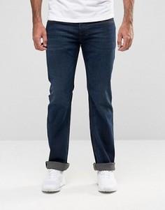 Темные джинсы с легким клешем Diesel Zatiny 857Z - Синий