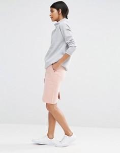 Юбка-карандаш с карманами Selected Alvina - Розовый