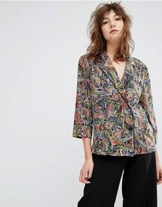 Рубашка с принтом Essentiel Antwerp Madras - Мульти