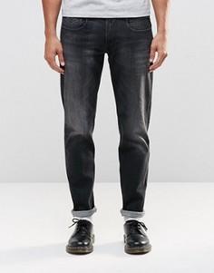 Черные джинсы слим Replay Anbass - Черный
