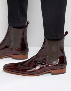 Кожаные ботинки челси Jeffery West Scarface - Красный