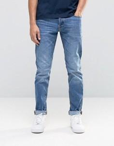 Голубые джинсы слим Jack & Jones - Черный