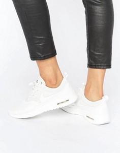Кремовые кроссовки Nike Air Max Thea Ultra - Белый