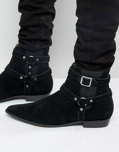 Замшевые ботинки Religion Belter - Черный