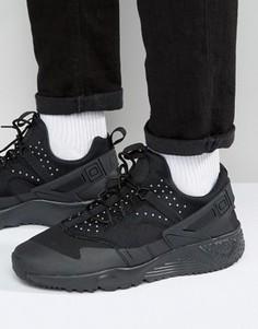 Черные кроссовки Nike Air Huarache Utility 806807-004 - Черный