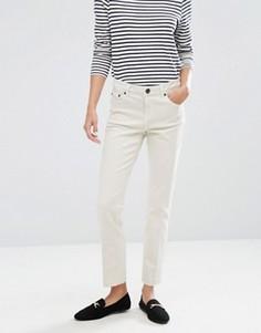 Бежевые джинсы прямого кроя ASOS - Белый