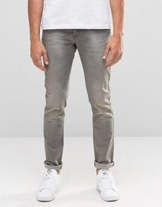 Серые джинсы скинни United Colors of Benetton - Серый