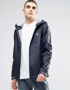 Ветровка adidas Originals Adicolour Deluxe AZ1449 - Синий