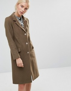 Зеленое пальто Helene Berman - Зеленый