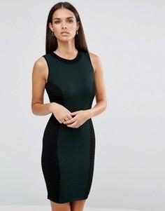 Трикотажное платье в стиле колор блок Lipsy - Мульти