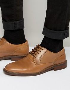 Оксфордские туфли из светло-коричневой кожи Aldo Cargle - Рыжий