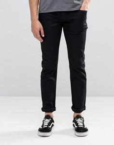Черные выбеленные джинсы слим Pepe Hatch D97 Gymdico - Синий