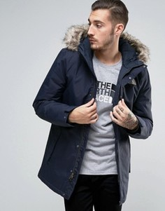 Темно-синяя утепленная куртка The North Face Zaneck - Темно-синий