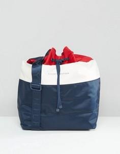 Сумка-мешок в стиле колор блок Tommy Hilfiger - Мульти