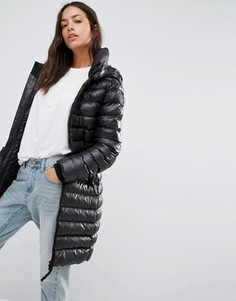 Стеганая куртка зауженного кроя G-Star Whistler - Черный