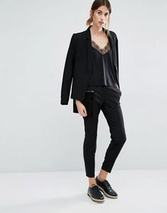 Укороченные брюки Vero Moda - Черный