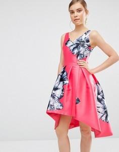 Платье с цветочным принтом Coast Ursula - Розовый