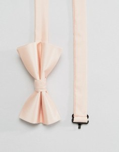 Розовый галстук‑бабочка ASOS WEDDING - Розовый