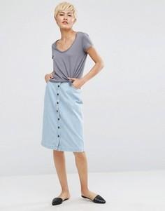 Джинсовая юбка Minimum Edle - Синий
