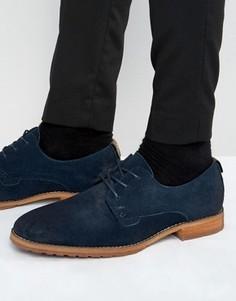 Замшевые туфли дерби Call It Spring Edaussi - Темно-синий