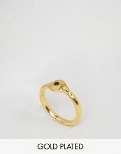 Кольцо с отделкой Ottoman Hands - Золотой