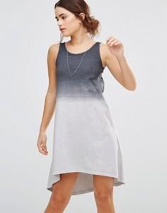 Платье асимметричной длины Uncivilised - Серый