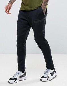 Черные флисовые джоггеры Nike Tech 832116-010 - Черный