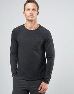 Свитшот с карманом Celio - Черный