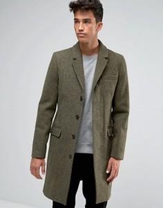 Темно-зеленое пальто Jack Wills - Зеленый