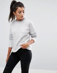 Свитер с рукавами 3/4 Adidas - Серый
