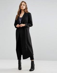 Oversize-пальто Minimum Moves - Черный