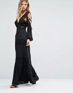 Платье с кружевной отделкой Majorelle Ronnie - Черный