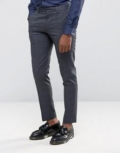 Зауженные брюки Burton Menswear - Темно-синий