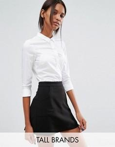 Рубашка строгого кроя Vero Moda Tall - Белый