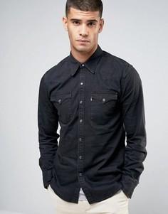 Черная выбеленная рубашка в стиле вестерн Levis Barstow - Черный Levis®