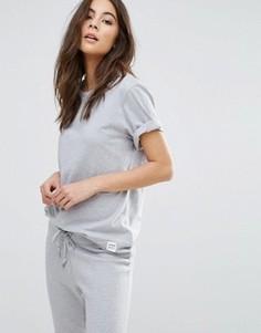 Серая футболка Converse Premium Essentials - Серый