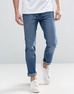 Синие джинсы слим Waven - Синий