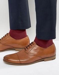 Оксфордские туфли с отделкой на носке Vagabond Linhope - Рыжий