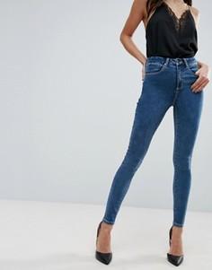 Синие джинсы ASOS SCULPT ME - Синий