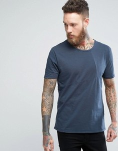 Nudie Jeans Co Ove Patched T-Shirt - Темно-синий