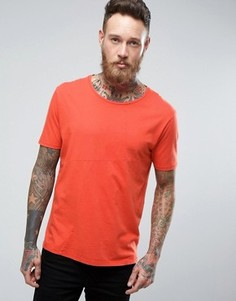 Nudie Jeans Co Ove Patched T-Shirt - Красный